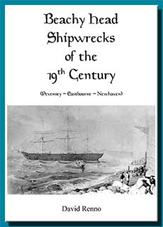Details of Beachy Head Shipwrecks of the 19th Century (Pevensey, Eastbourne, Newhaven)